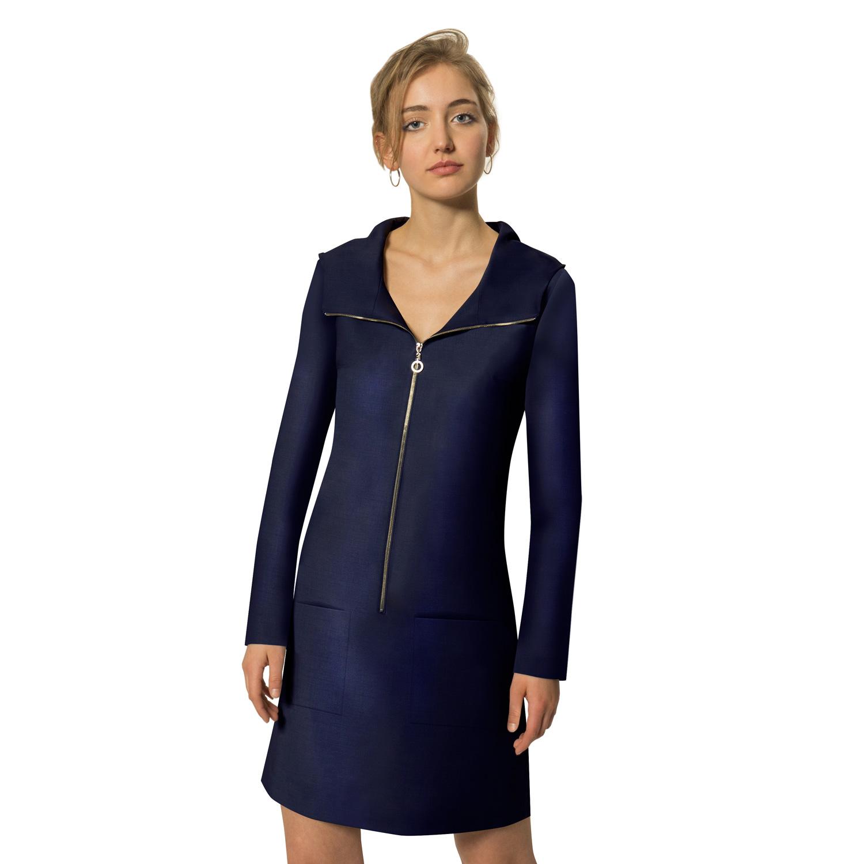 Brandengate Kleid Dark Blue Modell